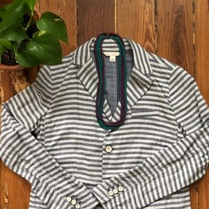 ➳ ➳ 100% Cotton Striped Blazer by T H E  G A P ➳ ➳